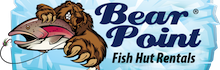 Bear Point Fish Hut Rentals Logo
